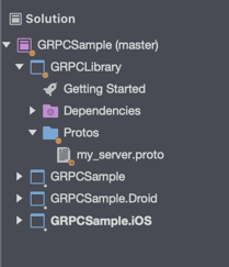 Implementing gRPC in a Xamarin Mobile Project